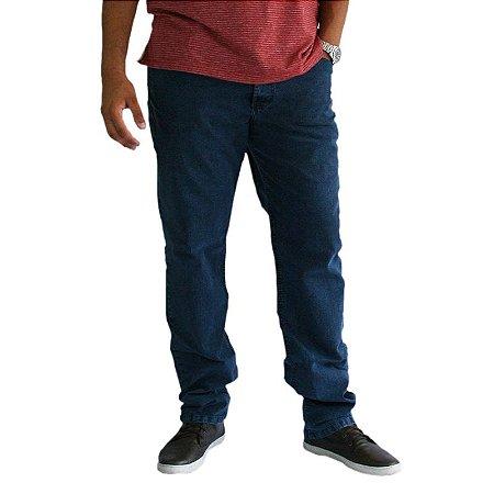 Calça Masculina Plus Size Jeans Básica