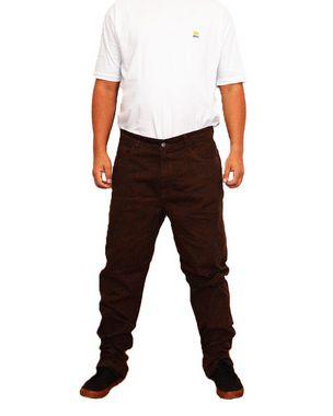 Calça Masculina Plus Size Colors Marrom