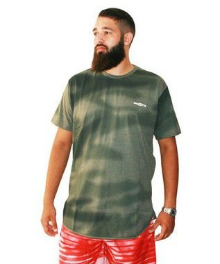 Camiseta Masculina Plus Size Gangster True Innovation Verde