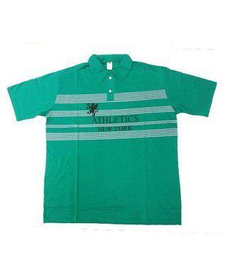 Camisa Polo Bigmen Plus Size Masculina New York Verde