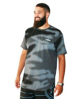 Camiseta Masculina Plus Size Gangster True Innovation Cinza