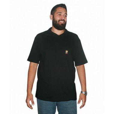 Camiseta Modern BigMen Plus Size Preta