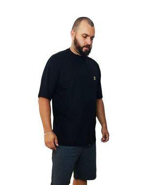 Camiseta Plus Size Masculina Bigmen Preta