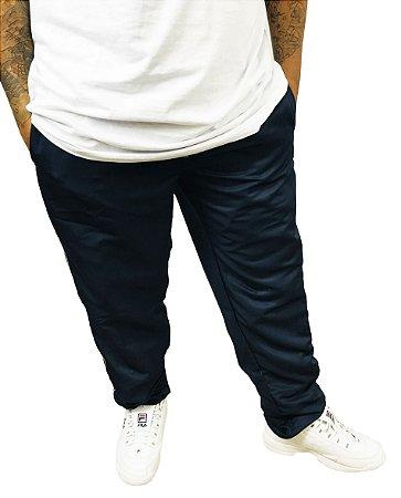Calça Plus Size Masculina Volver Tactel Azul