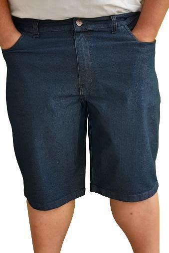 Bermuda Jeans Masculina  Plus Size Bigmen