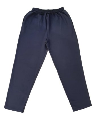 Calça Masculina Plus Size Moletom BigMen Azul Marinho