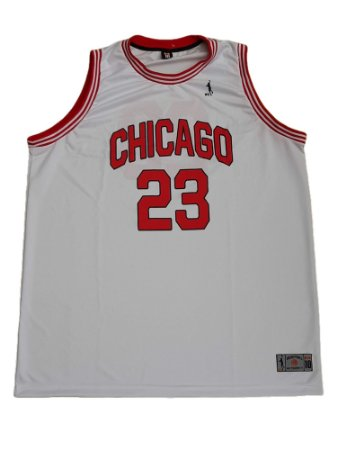 Camiseta Regata Plus Size Masculina Basquete Chicago Branca