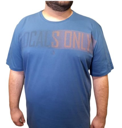 Camiseta Plus Size Masculina Austin Local Only