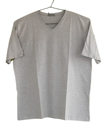 Camiseta Plus Size Masculina Austin Life Mescla v