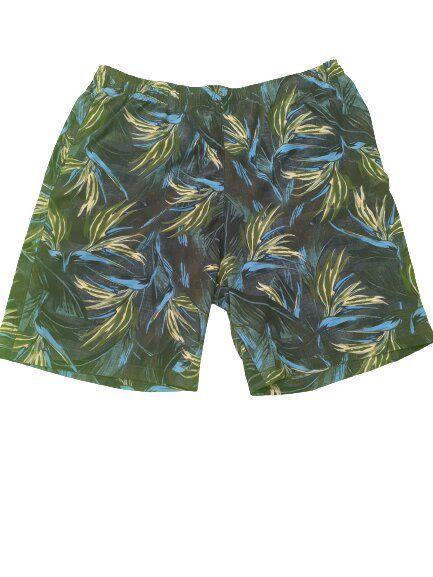 Short Praia Masculino Plus Size Floral Bigmen