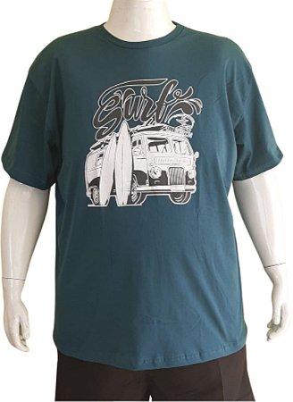 Camiseta Plus Size  Series Images Azul Kombi Bigmen G4/G9