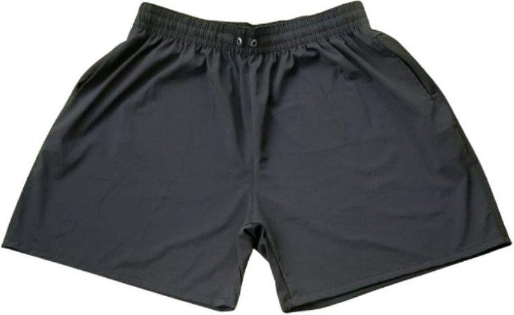 Short Praia Elastano Masculina Plus Size Basico