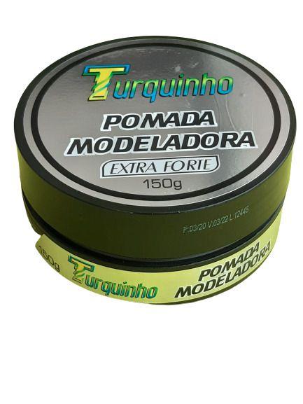 POMADA MODELADORA TURQUINHO  EXTRA FORTE