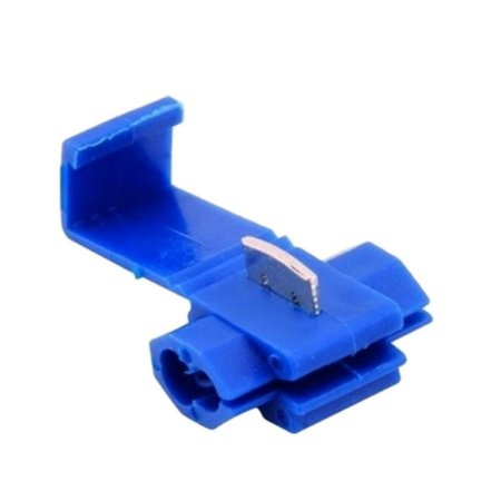 Conector Derivação Azul 100 Pçs