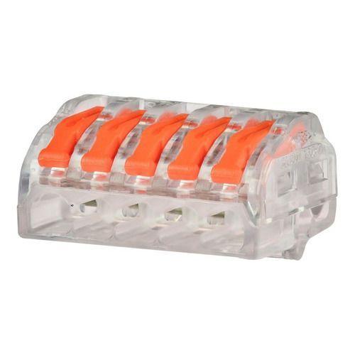 Conector Iluminação 5 Vias 10 Pçs