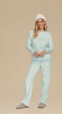 Pijama apeluciado Cor com Amor