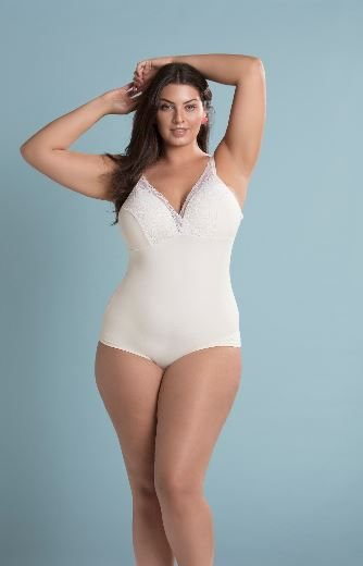 Body Perola Plus Size Sizely