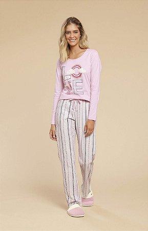 Pijama em Meia Malha Mensageiro dos Sonhos