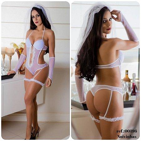 Body Noiva Garota Veneno