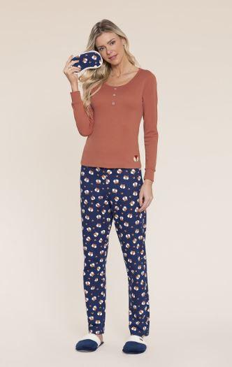 Pijama Manga Longa Mensageiro dos Sonhos