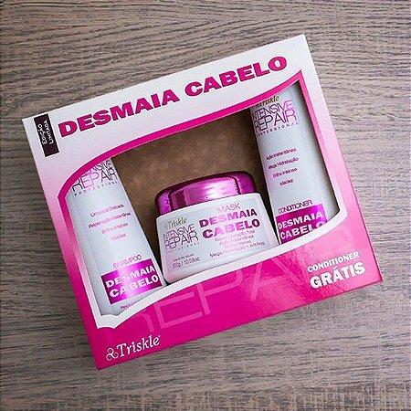 Triskle cosméticos - kit Desmaia cabelo Orgânico