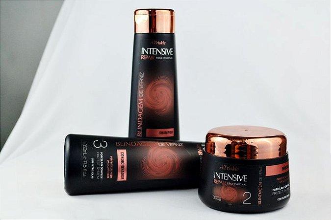 Triskle cosméticos - kit blindagem de verniz ultra brilho