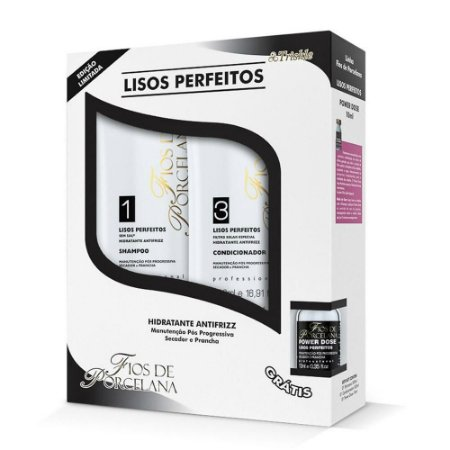Triskle cosméticos - kit lisos perfeitos produto pós progressiva mantem o liso por muito mais tempo