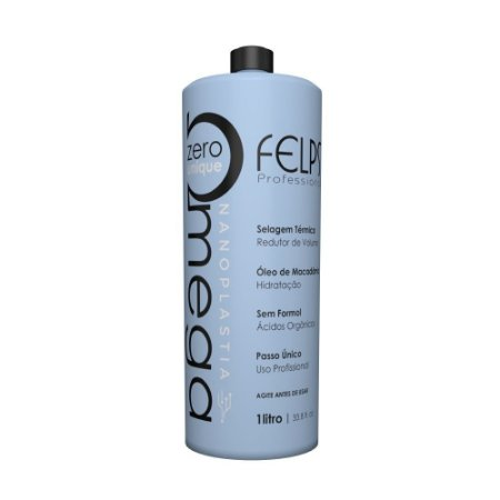 Felps Escova Progressiva Omega Zero Unique Nanoplastia Capilar 1000ml
