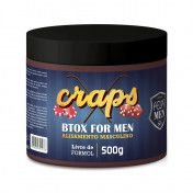 Kit Progressiva 500ml + Btox 500ml  para homens, alisamento masculino Felps.