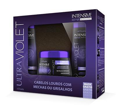 Kit Ultra Violet Shampoo350ml + condicionador350ml + mascara300g