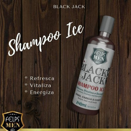 shampoo ice felps 240ml