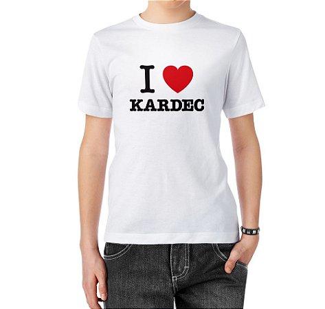 Camiseta I Love Kardec