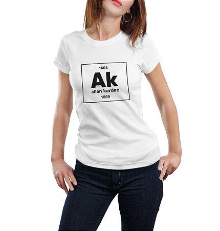 Camiseta Feminina Elemento Ak