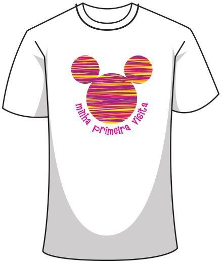 Camiseta - Minha Primeira Visita Disney