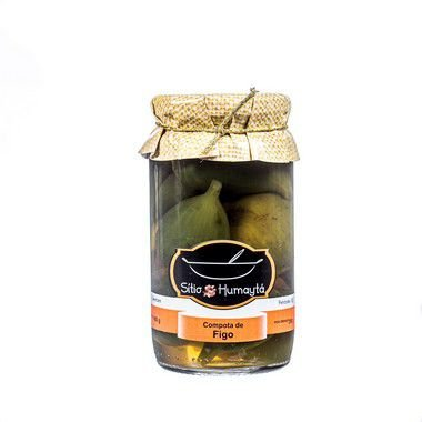 Compota de Figo Verde 650g -  Sítio Humaytá