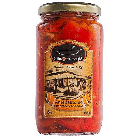 Pimentões Vermelho Assados 250g - Sítio Humaytá