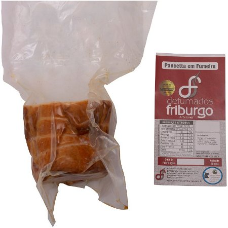 Pancetta Defumada - Defumados Friburgo - 500 gr