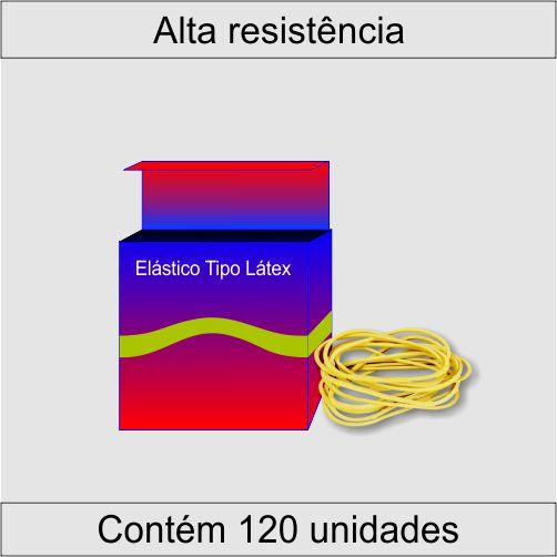 Elástico Látex RedBor - Amarelo