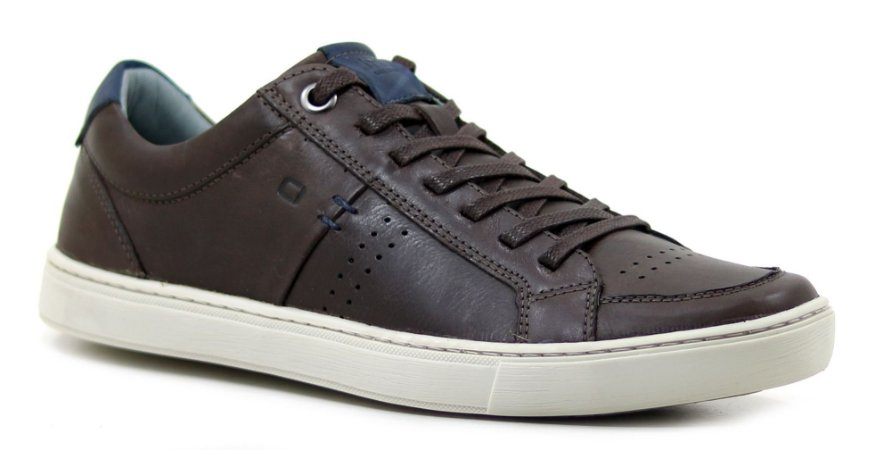 Sapatênis Masculino  Casual Way Orlandelli Chocolate TN01V6