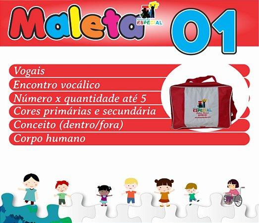 Maleta 01 - Kit com 30 Pastas