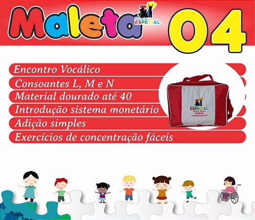 Maleta 04 - Kit com 30 Pastas