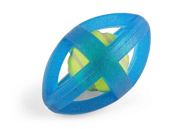 Brinquedo de borracha oval