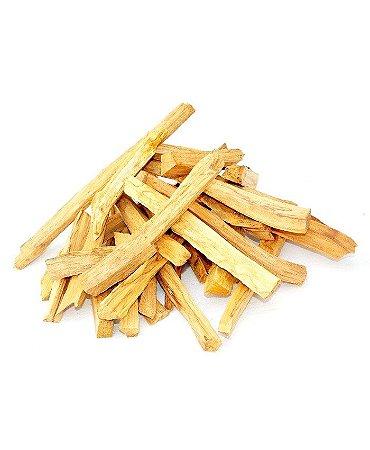 Palo Santo (Bursera graveolens) - 50 gramas em lascas