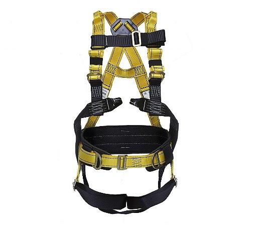 Cinturão tipo Paraquedista 4 Pontos de Ancoragem VICSA VIC20529