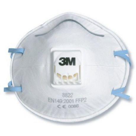 Respirador Descartável PFF2 3M modelo 8822