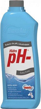 Hidro Ph- Redutor Ph da Água de Pisicinas 1lt HidroAll