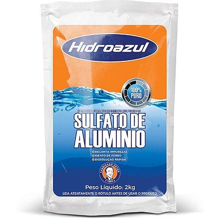 Sulfato de Alumínio 2kg HidroAzul