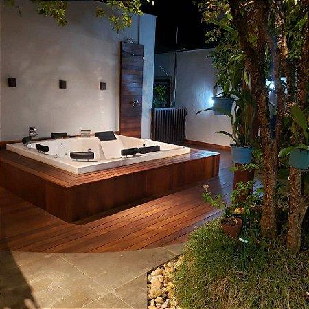 Spa Hidromassagem Gloriosa Top Line Luxo Aqualax