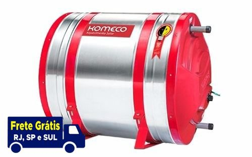 Boiler Solar 200l Alta Pressão komeco