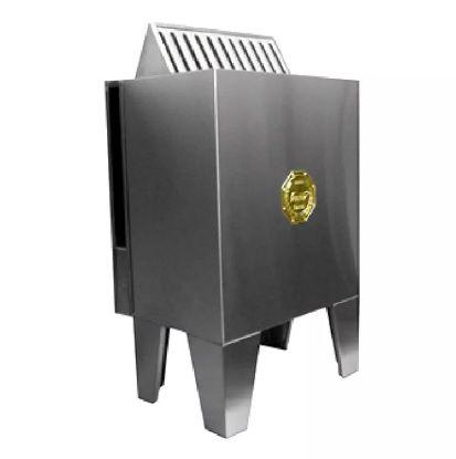 Sauna Seca 9KW c/ Quadro Digital Impercap